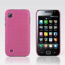 Custodia Samsung i909 Rete Cover Rigida Guscio - Rosa