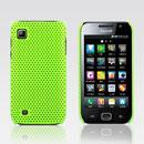 Custodia Samsung i909 Rete Cover Rigida Guscio - Verde