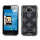 Custodia Samsung i9100 Galaxy S2 Grid TPU Silicone Case - Grigio