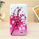 Custodia Samsung i9103 Galaxy R Fiori Silicone Gel Case - Rosa