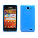 Custodia Samsung i9103 Galaxy R Silicone Case - Blu