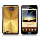 Custodia Samsung i9220 Galaxy Note Alluminio Metal Plated Cover - Golden