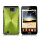 Custodia Samsung i9220 Galaxy Note Alluminio Metal Plated Cover - Verde