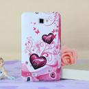 Custodia Samsung i9220 Galaxy Note Amore Silicone Case Astuccio - Porpora