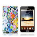 Custodia Samsung i9220 Galaxy Note Fiori Silicone Gel Case - Misto