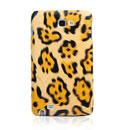 Custodia Samsung i9220 Galaxy Note Leopard Cover Rigida - Brown