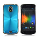 Custodia Samsung i9250 Galaxy Nexus Prime Alluminio Metal Plated Cover - Luce Blu