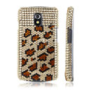 Custodia Samsung i9250 Galaxy Nexus Prime Diamante Bling Cover Rigida - Brown