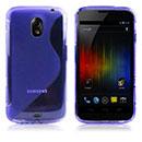 Custodia Samsung i9250 Galaxy Nexus Prime S-Line Silicone Bumper - Blu