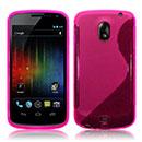 Custodia Samsung i9250 Galaxy Nexus Prime S-Line Silicone Bumper - Fucsia