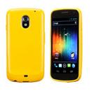 Custodia Samsung i9250 Galaxy Nexus Prime Silicone Case - Giallo