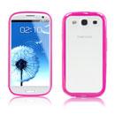 Custodia Samsung i9300 Galaxy S3 Silicone Trasparente Case - Fucsia