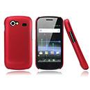 Custodia Samsung Nexus S i9023 Plastica Cover Rigida Guscio - Rosso