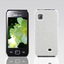 Custodia Samsung S5750 Wave 575 Rete Cover Rigida Guscio - Bianco