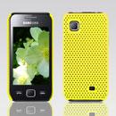 Custodia Samsung S5750 Wave 575 Rete Cover Rigida Guscio - Giallo
