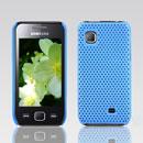 Custodia Samsung S5750 Wave 575 Rete Cover Rigida Guscio - Luce Blu
