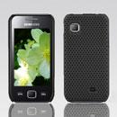 Custodia Samsung S5750 Wave 575 Rete Cover Rigida Guscio - Nero