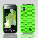 Custodia Samsung S5750 Wave 575 Rete Cover Rigida Guscio - Verde