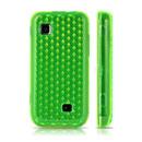 Custodia Samsung S5750 Wave 575 TPU Diamante Silicone Case - Verde