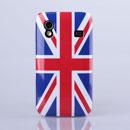 Custodia Samsung S5830 Galaxy Ace La bandiera del Regno Unito Cover - Misto