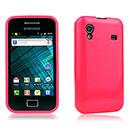 Custodia Samsung S5830 Galaxy Ace Silicone Case - Fucsia