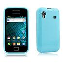 Custodia Samsung S5830 Galaxy Ace Silicone Case - Luce Blu