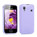Custodia Samsung S5830 Galaxy Ace Silicone Case - Porpora