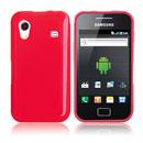 Custodia Samsung S5830 Galaxy Ace Silicone Case - Rosso