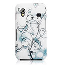 Custodia Samsung S5839i Galaxy Ace Fiori Bling Cover Rigida - Misto
