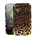 Custodia Samsung S5839i Galaxy Ace Metal Rete Cover Rigida Guscio - Golden