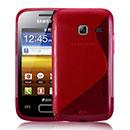 Custodia Samsung S6102 Galaxy Y Duos S-Line Silicone Bumper - Rosso