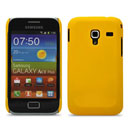 Custodia Samsung S7500 Galaxy Ace Plus Plastica Cover Rigida - Giallo