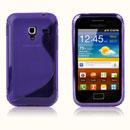 Custodia Samsung S7500 Galaxy Ace Plus S-Line Silicone Bumper - Porpora