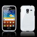 Custodia Samsung S7500 Galaxy Ace Plus Trasparente TPU Silicone Case - Bianco
