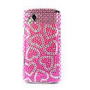 Custodia Samsung S8530 Wave 2 Amore Diamante Bling Cover Rigida - Rosa