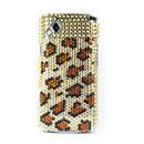Custodia Samsung S8530 Wave 2 Diamante Bling Cover Rigida - Brown