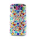 Custodia Samsung S8530 Wave 2 Diamante Bling Cover Rigida - Misto