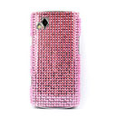 Custodia Samsung S8530 Wave 2 Diamante Bling Cover Rigida - Rosa