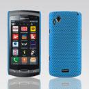 Custodia Samsung S8530 Wave II Rete Cover Rigida Guscio - Luce Blu