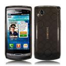 Custodia Samsung S8530 Wave II TPU Silicone Case Gel - Nero