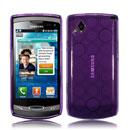 Custodia Samsung S8530 Wave II TPU Silicone Case Gel - Porpora