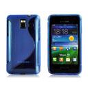 Custodia Samsung Wave M S7250 S-Line Silicone Bumper - Blu