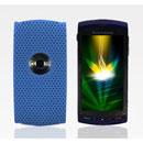 Custodia Sony Ericsson U5i Rete Cover Rigida Guscio - Luce Blu