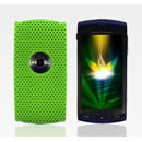 Custodia Sony Ericsson U5i Rete Cover Rigida Guscio - Verde