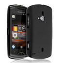 Custodia Sony Ericsson Walkman WT19i Plastica Cover Rigida Guscio - Nero