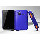 Custodia Sony Ericsson Xperia Active ST17i Plastica Cover Rigida Guscio - Blu