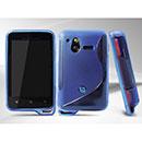 Custodia Sony Ericsson Xperia Active ST17i S-Line Silicone Bumper - Blu