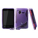 Custodia Sony Ericsson Xperia Active ST17i S-Line Silicone Bumper - Porpora