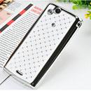 Custodia Sony Ericsson Xperia Arc S LT18i Diamante Bling Cover Rigida - Bianco