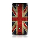 Custodia Sony Ericsson Xperia Arc S LT18i La bandiera del Regno Unito Cover Rigida - Misto